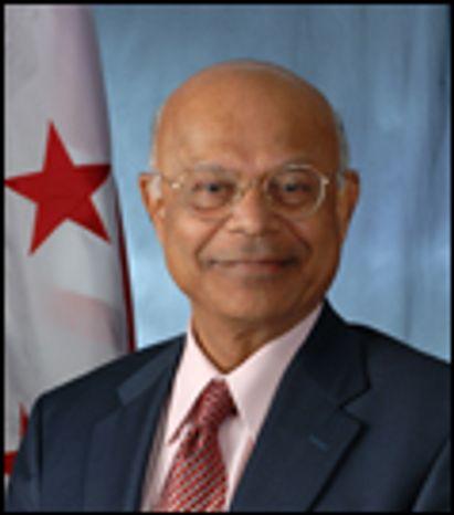 D.C. CFO Natwar M. Gandhi