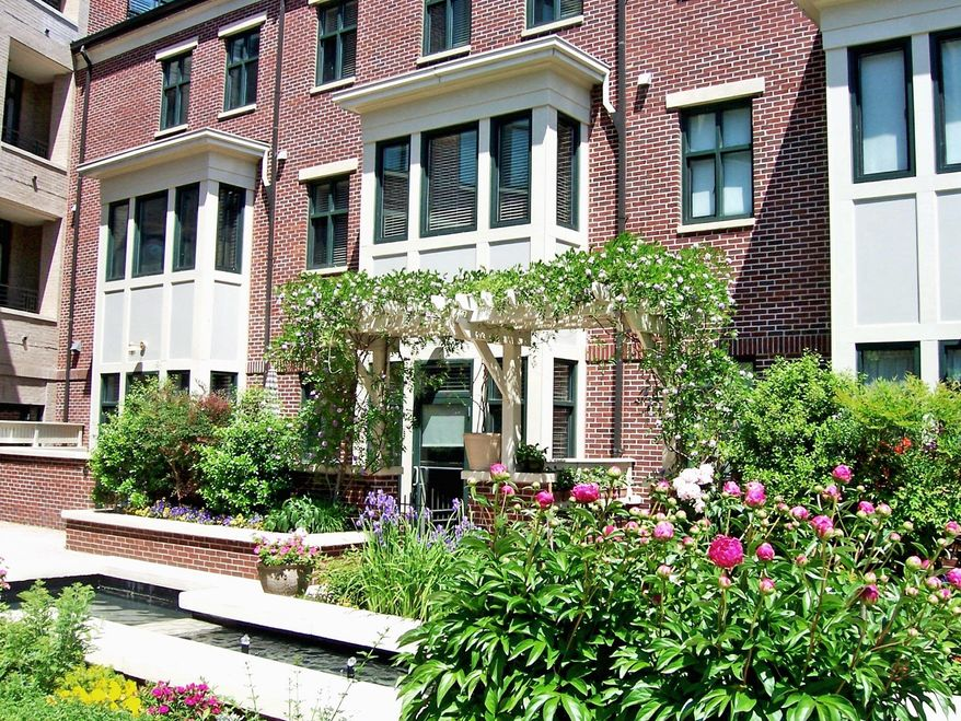 Town house No. 2 at Tenley Hill on 41st St. Northwest is on the market for $1,200,000.