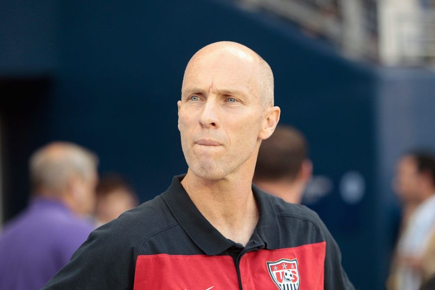 ASSOCIATED PRESS U.S.coach Bob Bradley's team lost to Panama 2-1and struggled past Guadeloupe 1-0 after opening the Gold Cup with a 2-0 victory over Canada.