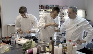"PHOTOGRAPH PROVIDED BY SILVERDOCS ""El Bulli: Cooking in Progress"" shows how one of the world's most famous restaurants shuts down for six months to create an entirely new menu."