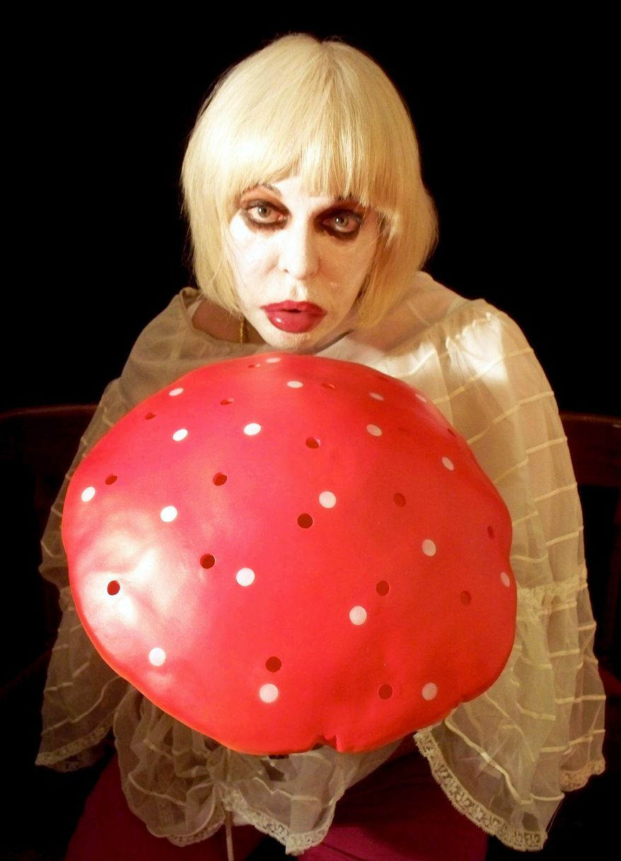 """PHOTOGRAPH PROVIDED BY SILVERDOCS Performance artist Genesis P-Orridge remakes his body in the image of his lover to explore """"pandrogeny"""" in """"The Ballad of Genesis and Lady Jaye."""""""