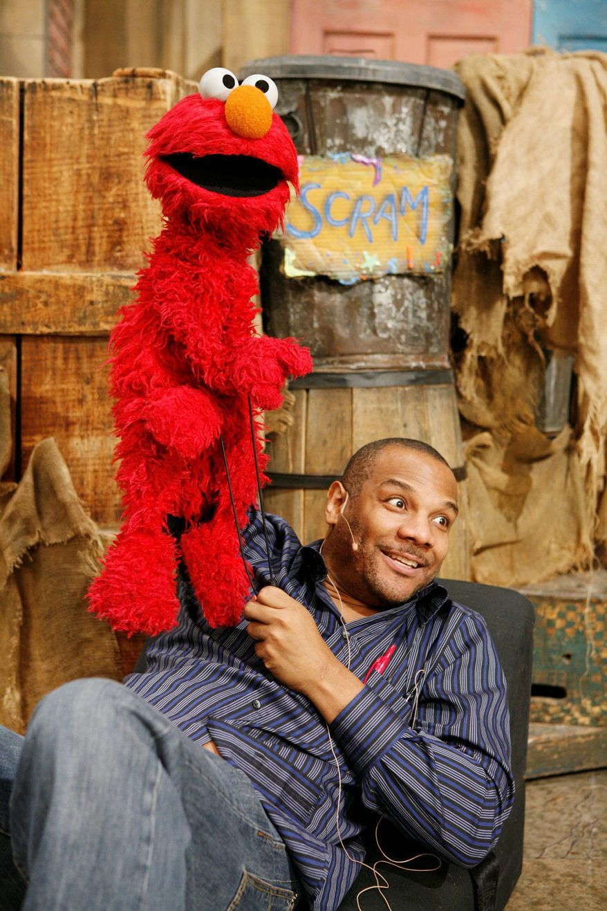 "PHOTOGRAPH PROVIDED BY SESAME WORKSHOP ""Being Elmo: A Puppeteer's Journey"" will give a history of Kevin Clash and the creation of his popular ""Sesame Street"" character."