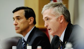"""If the NLRB had its way, then once you plant your flag in a union state, then you can never leave,"" said Rep. Trey Gowdy, South Carolina Republican, of the ramifications for businesses. (Jeremy Lock/Special to The Washington Times)"