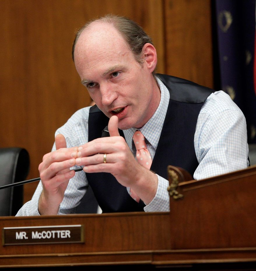 ** FILE ** Rep. Thaddeus G. McCotter, Michigan Republican. (ASSOCIATED PRESS)