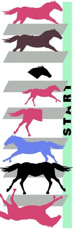 Illustration: Horse race