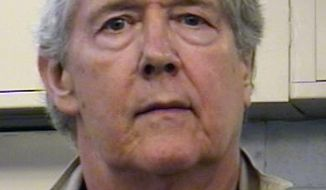 David Flory, a New Jersey physics professor, is accused of operating a prostitution website. (AP Photo/Albuquerque [N.M.] Police Department)