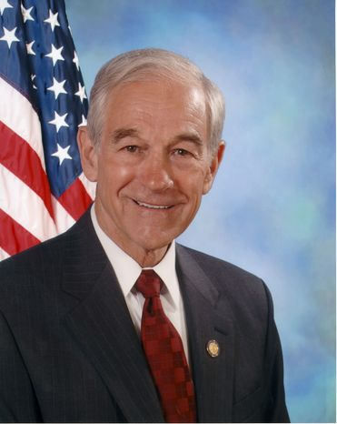 """Rep. Ron Paul joins with Rep. Barney Frank and other Democrats to back first-ever legislation to """"end the federal war"""" on marijuana. (Image from Rep. Ron Paul, Texas Republican.)"""
