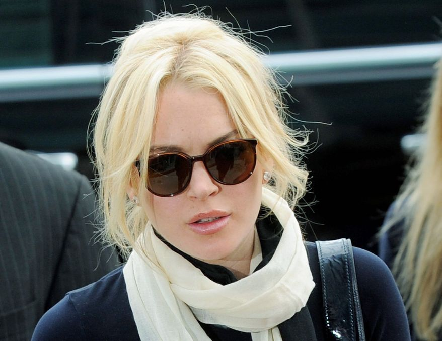 ASSOCIATED PRESS Lindsay Lohan