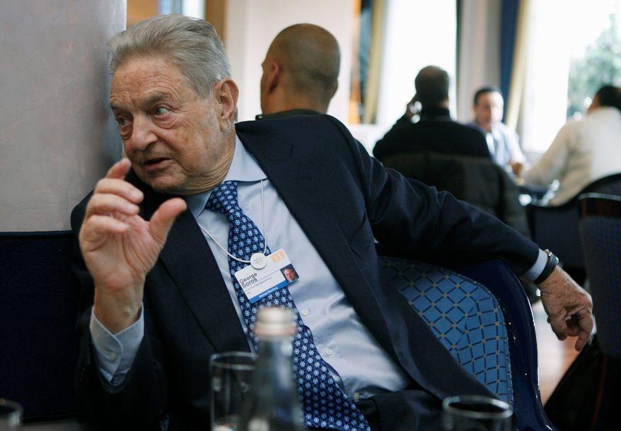 George Soros (Associated Press) ** FILE **