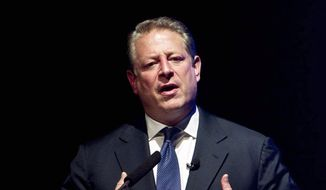 "CRITIC: Former Vice President Al Gore says President Obama has ""failed to use the bully pulpit to make the case for bold action on climate change."" (Associated Press)"