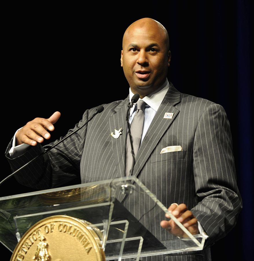 D.C. Council member Michael A. Brown, at-large independent, says online gambling is a win-win that can generate millions in public revenue. (The Washington Times)