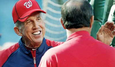 associated press Davey Johnson joined Frank Robinson (2005), Manny Acta (2007) and Jim Riggleman(2009) as Nationals managers to lose their debut game.