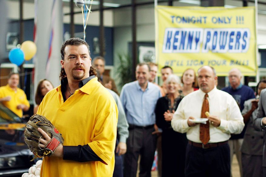 "Danny McBride as Kenny Powers in HBO's ""Eastbound & Down"
