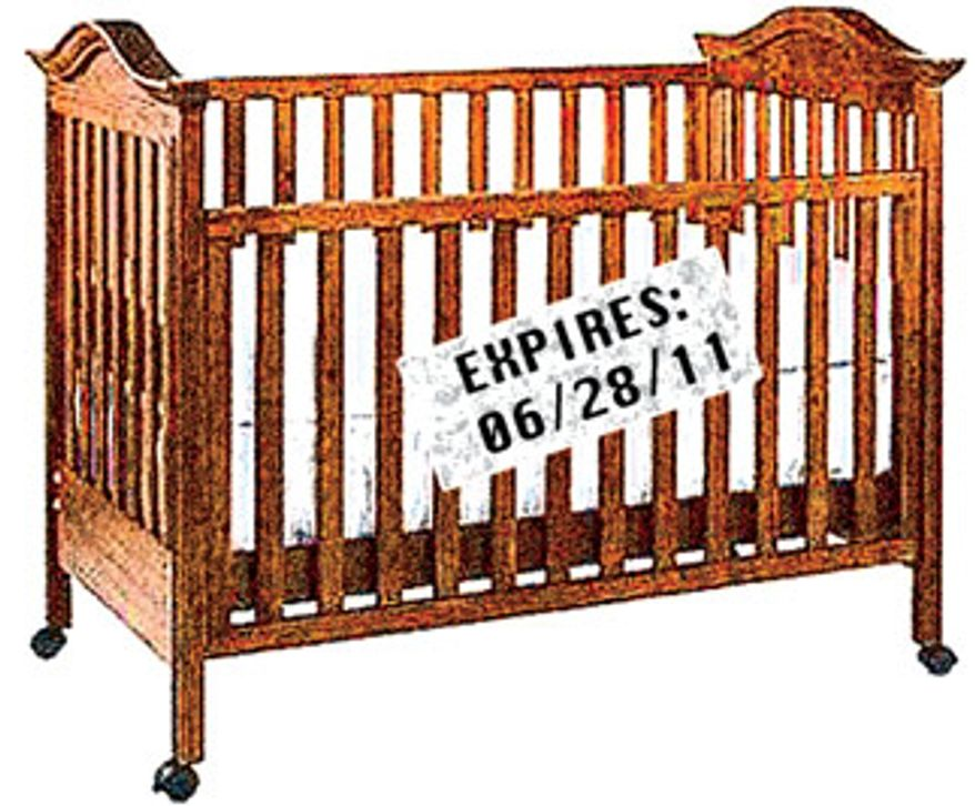 Illustration: Cribs by Alexander Hunter for The Washington Times