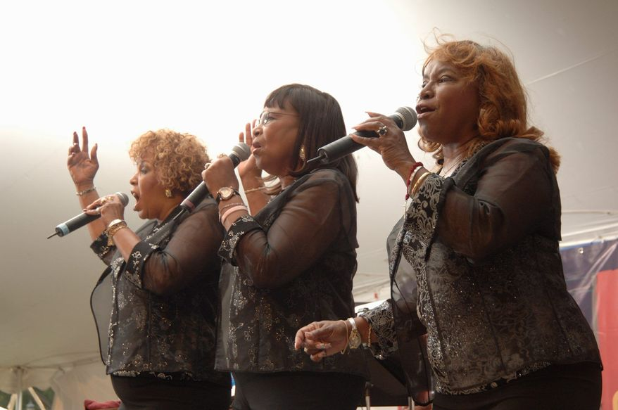 """The Dixie Cups, whose """"Chapel of Love"""" was the No. 1 song in 1964, will honor rhythm and blues at the Folklife Festival."""