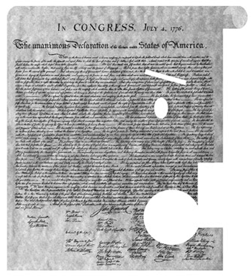 Illustration: Declaration of Independence
