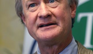 Rhode Island Gov. Lincoln Chafee is an independent. (AP Photo/Stew Milne)