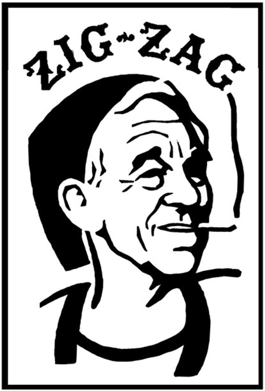 Illustration: Ron Paul by Alexander Hunter for The Washington Times