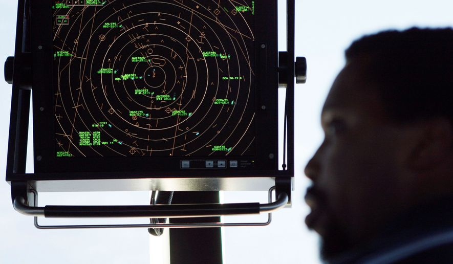 First implemented in the 1950s, radar remains the basis of the technology used by more than 15,000 U.S. controllers to guide 50,000 flights a day. A new program would replace ground radar stations with satellite-based technology. (Associated Press)