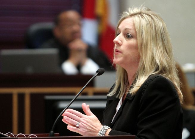 Lead prosecutor Linda Drane Burdick during her closing argument focused on the lies Miss Anthony told after her daughter disappeared.