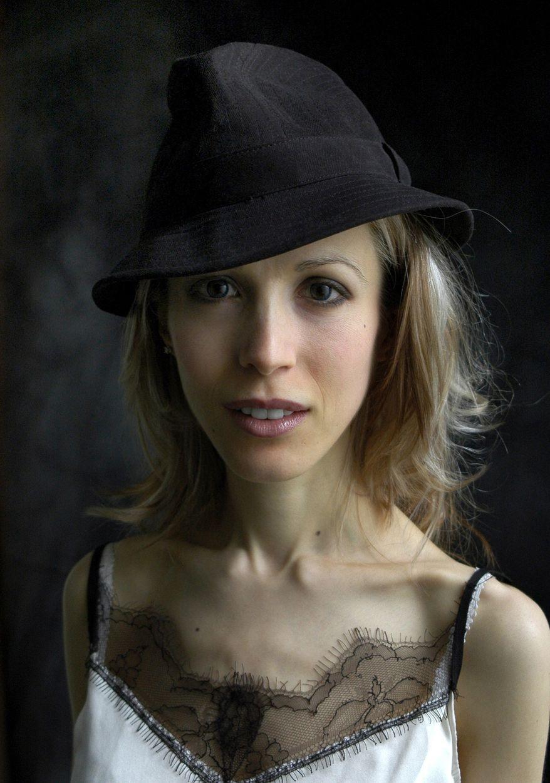 French writer Tristane Banon (AP Photo/Plon Publishing)