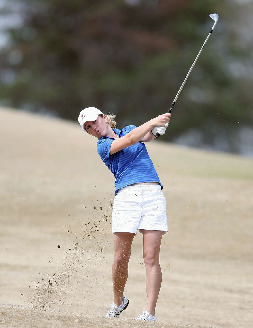 UNIVERSITY OF VIRGINIA MEDIA RELATIONS Whitney Neuhauser, a former University of Virginia standout, qualified for the U.S. Women's Open on her fourth try at making the tournament.