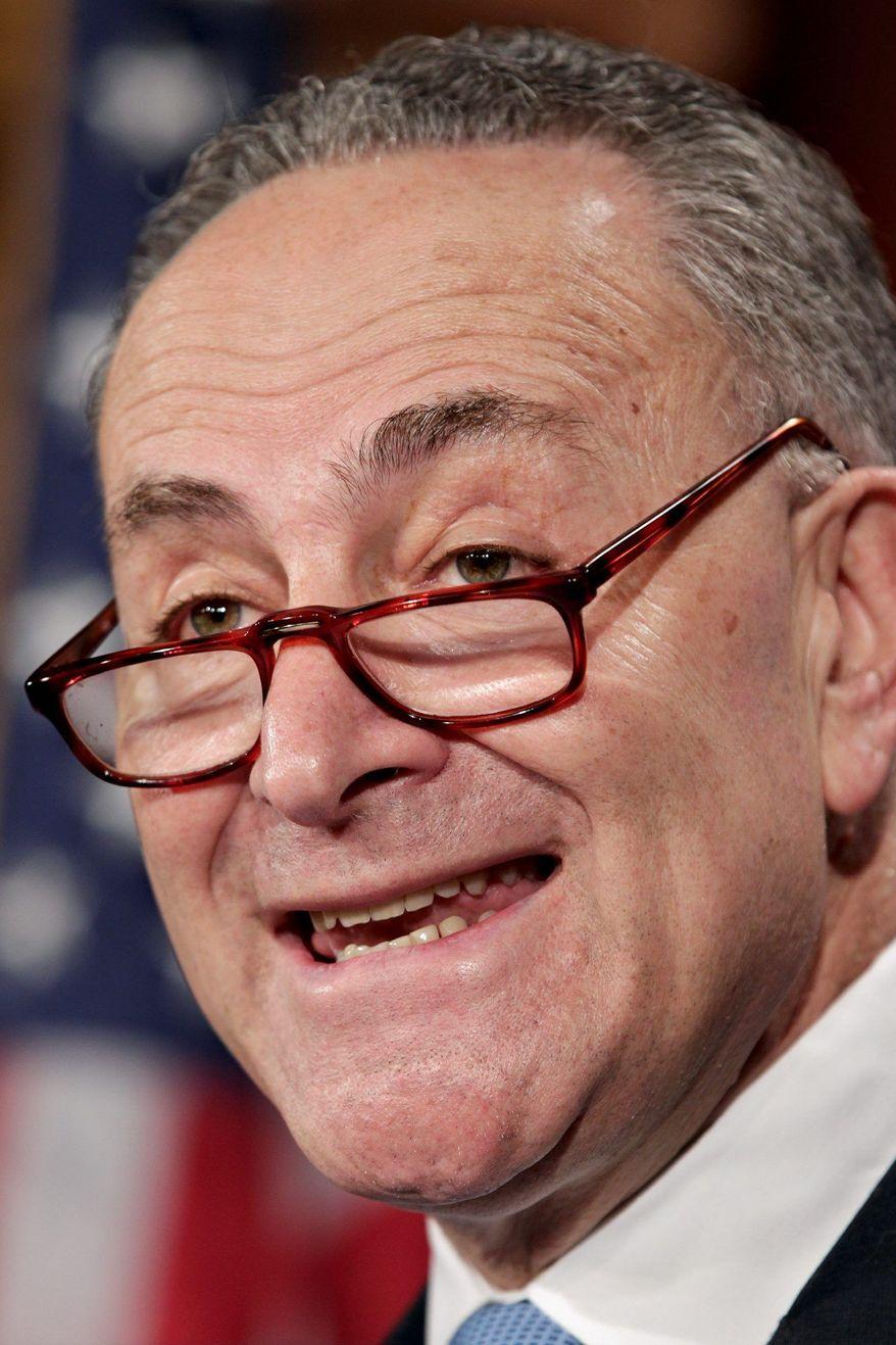 **FILE ** Sen. Charles E. Schumer, New York Democrat (Associated Press)