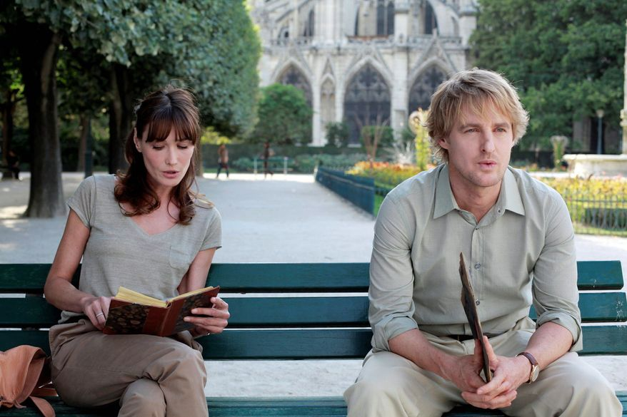 """Owen Wilson and Carla Bruni star in writer-director Woody Allen's latest film, """"Midnight in Paris."""" The 75-year-old auteur has strung together a slew of modest successes after disappearing from the industry spotlight for several years."""