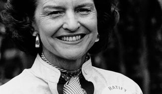 ASSOCIATED PRESS Former first lady Betty Ford died of natural causes in Rancho Mirage, Calif., on Friday at age 93. She will be buried in Grand Rapids, Mich.