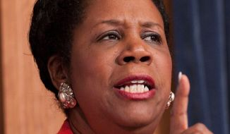 Rep. Sheila Jackson Lee, Texas Democrat, is the target of a lawsuit by an ex-aide who claims the congresswoman is not a true advocate for the disabled. The ex-aide, who has a vision disability, has filed suit. (Associated Press)