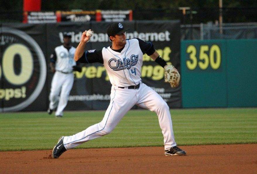 JIM McGREGOR Second baseman Stephen Lombardozzi is ranked as the 13th-best prospect in the Nationals' organization by Baseball America. He was drafted in the 19th round in 2008.