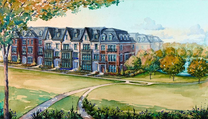 Michael Harris Homes is building 112 town homes at Symphony Park at Strathmore. Owners will be given a complimentary three-year membership to the Symphony Park Circle, which provides ticket discounts.