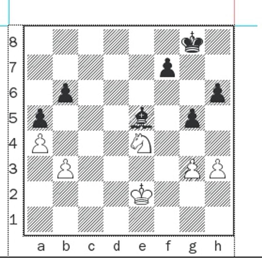 Most-Homa after 38...Bc3-e5.