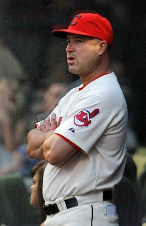 Manager Manny Acta has watched his Cleveland Indians spend much of the season atop the AL Central. Now, the trick is staying there. (Associated Press)