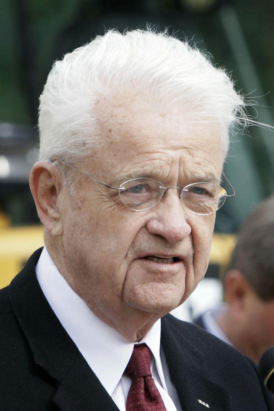 Rep. Leonard L. Boswell, Iowa Democrat (AP Photo/Charlie Neibergall, File)