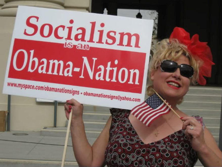 "DAILY CALLER Victoria Jackson, formerly of ""Saturday Night Live,"" says President Obama has a lot in common with Adolf Hitler and she can list them if you want."