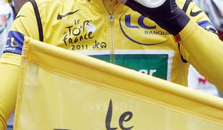 ASSOCIATED PRESS Thomas Voeckler has a nearly two-minute lead in the Tour de France but insists he doesn't stand a chance.