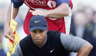 ASSOCIATED PRESS Steve Williams (top) and Tiger Woods were friends off the golf course, having served in each other's weddings.