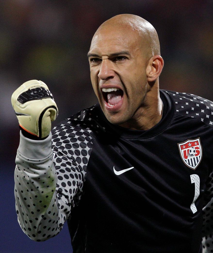 Tim Howard has amassed 65 caps for the United States. (AP Photos)