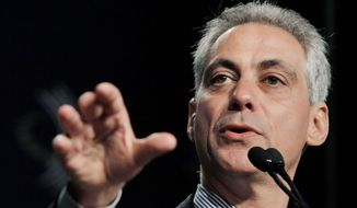 ** FILE ** Chicago Mayor Rahm Emanuel (Associated Press)