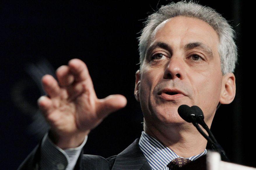 ** FILE ** Chicago Mayor Rahm Emanuel (Associated Press)