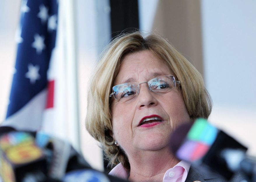 Rep. Ileana Ros-Lehtinen, Florida Republican (Associated Press)