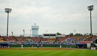 A view of  Pfitzner Stadium, in Woodbridge, Va., Tuesday, July 19, 2011.   (Drew Angerer/The Washington Times)