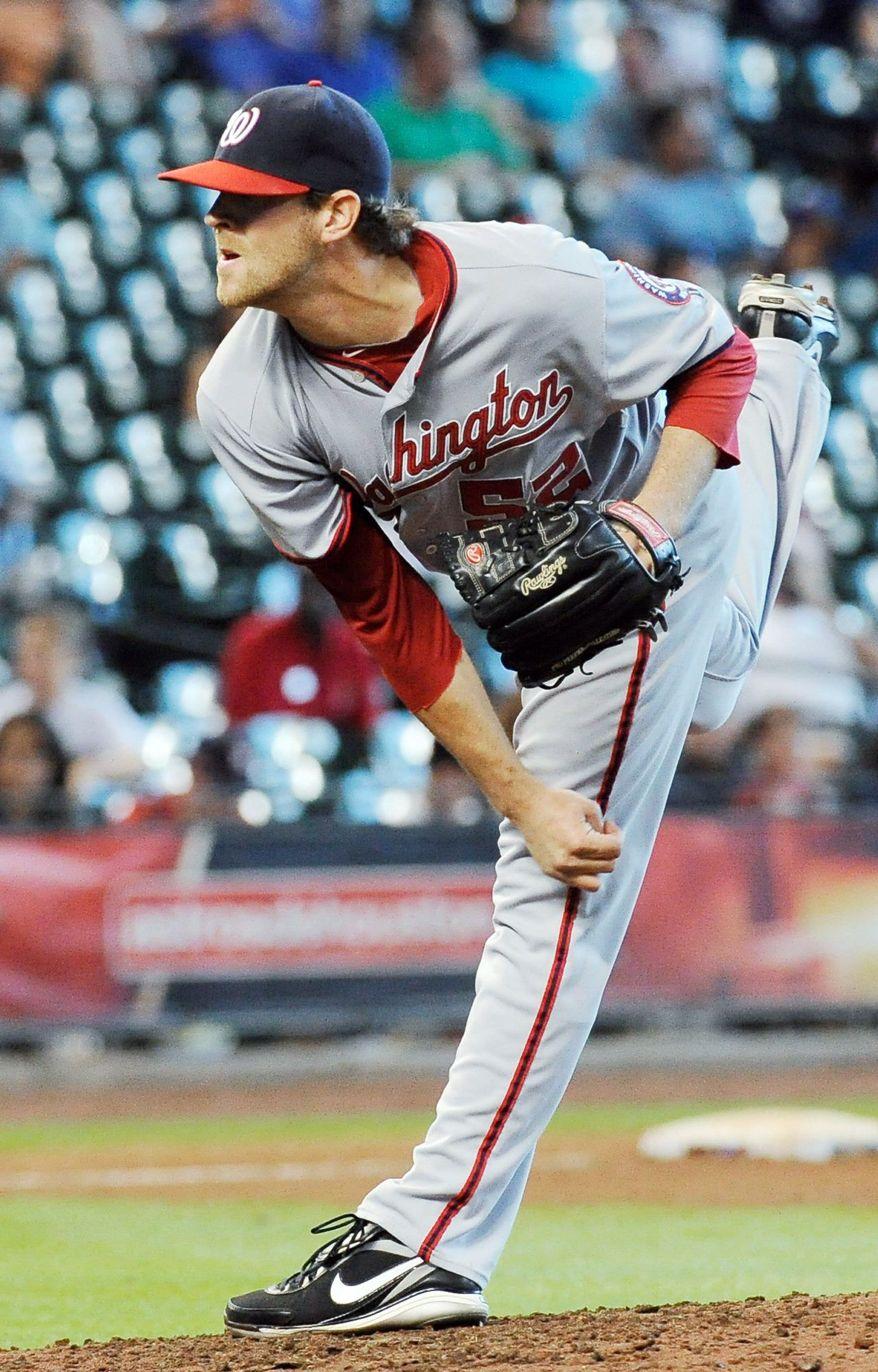 Washington Nationals' Ryan Mattheus. (AP Photo/Pat Sullivan)