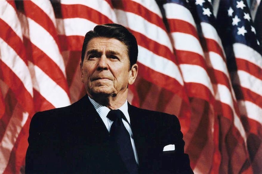 Democratic strategists are citing President Reagan's speeches and letters to persuade Republicans to agree to a debt-ceiling increase. A conservative media analyst said Reagan was being taken out of context. (Ronald Reagan Presidential Foundation and Library)