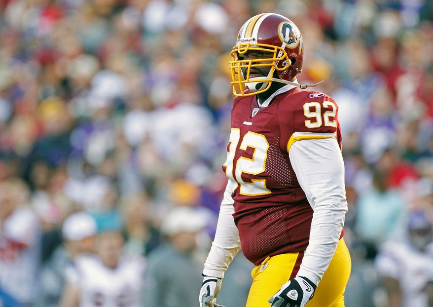 Associated Press Redskins defensive tackle Albert Haynesworth was suspended by coach Mike Shanahan for the final four games of the 2010 season. The move cost Haynesworth $847,058 in salary.