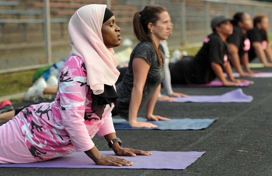 Personal trainer Mubarakah Ibrahim of New Haven, Conn., will re-arrange her schedule while fasting during Ramadan to mostly mornings, when she has the most energy. (Associated Press)