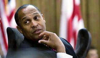 ** FILE ** D.C. Council member Harry Thomas Jr. (The Washington Times)