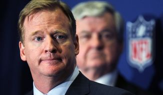 **FILE** NFL Commissioner Roger Goodell (Associated Press)