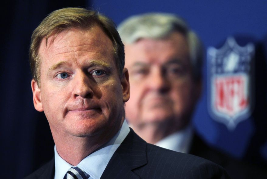 **FILE** NFL Commissioner Roger Goodell (Associated Press)